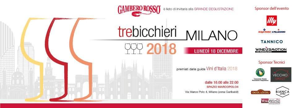 """, Wineemotion sponsor della GRANDE DEGUSTAZIONE """"Gambero rosso Tre Bicchieri 2018"""", Wineemotion"""