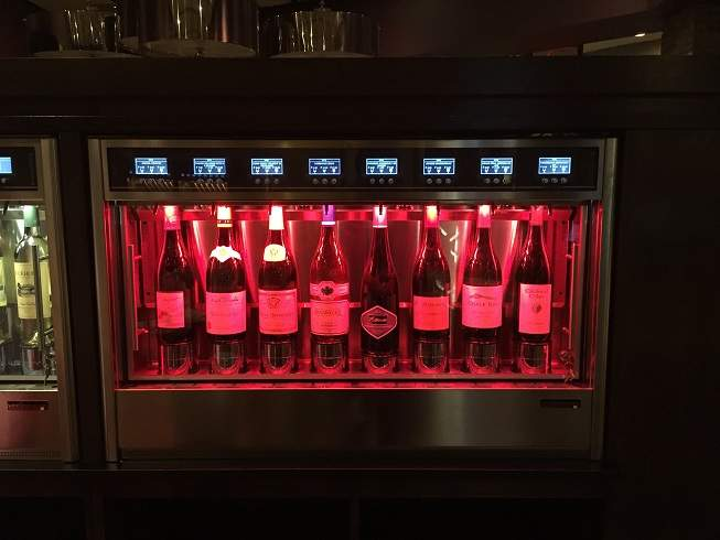 Wineemotion, wine by the glass coolers and dispensers