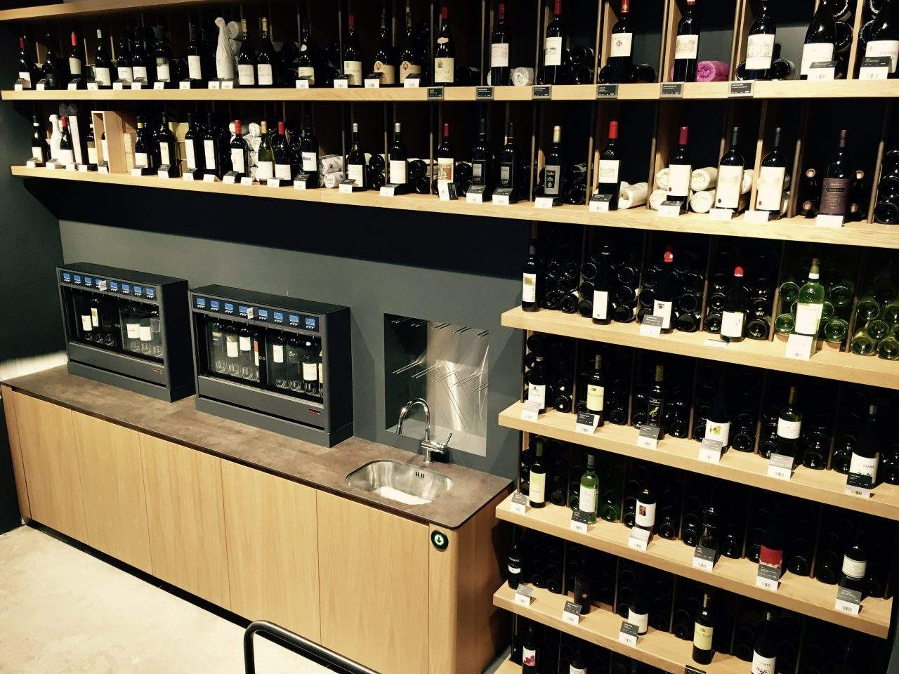 Serving wine by the glass with Wineemotion wine dispensers