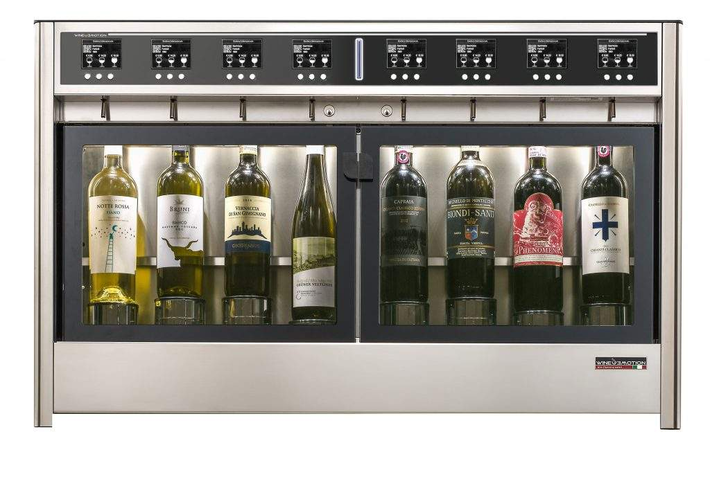 Dispenser vino da 8 Bottiglie