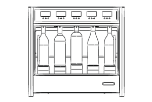 Wineemotion, made in italy wine dispensers and coolers.