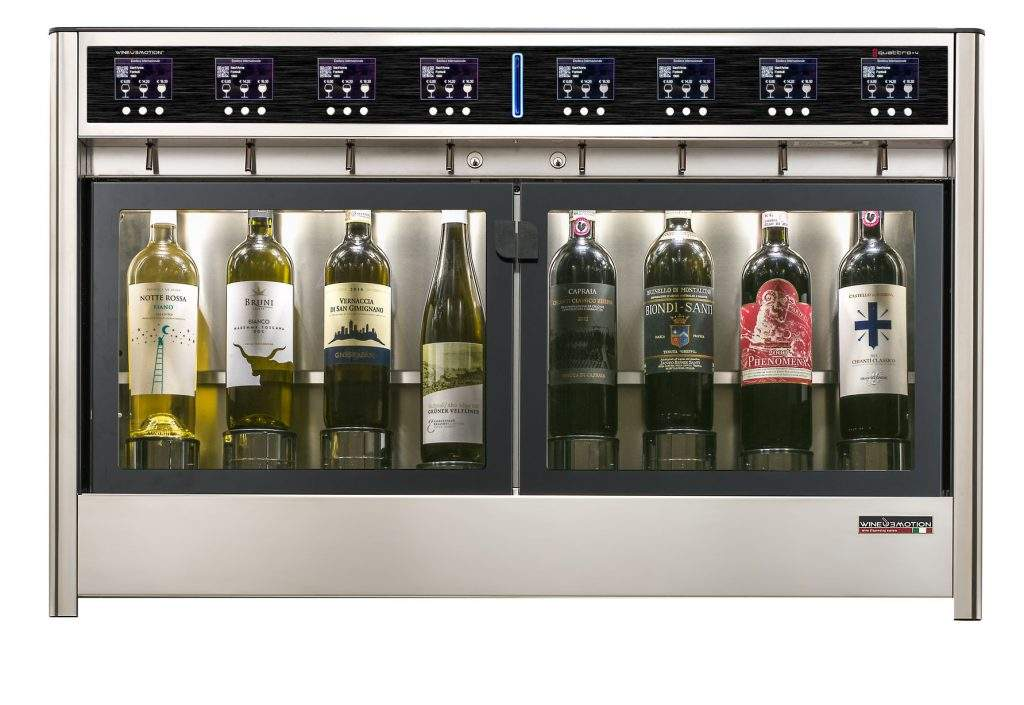 Eight Bottle Wine dispenser