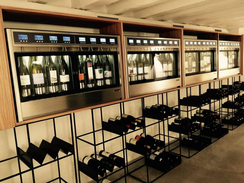 Wine dispensers by wineemotion